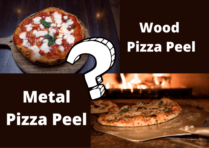 wood vs metal pizza peel